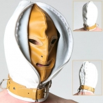HZM3 - Double Skinned Leather Hood - Hospital
