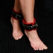 BFR1 - Padded Ancle Cuff black/red