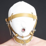 HSM1 - Sensory Deprivation Leather Hood