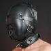 HSB - Sensory Deprivation Leather Hood